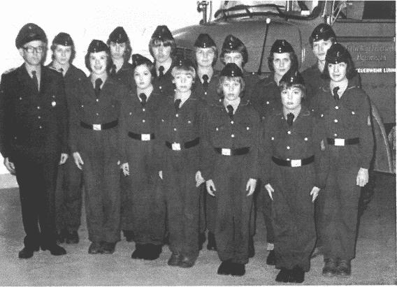 40 Jahre ist es her: Die Jugendfeuerwehr Lühnde wird 1976 gegründet.