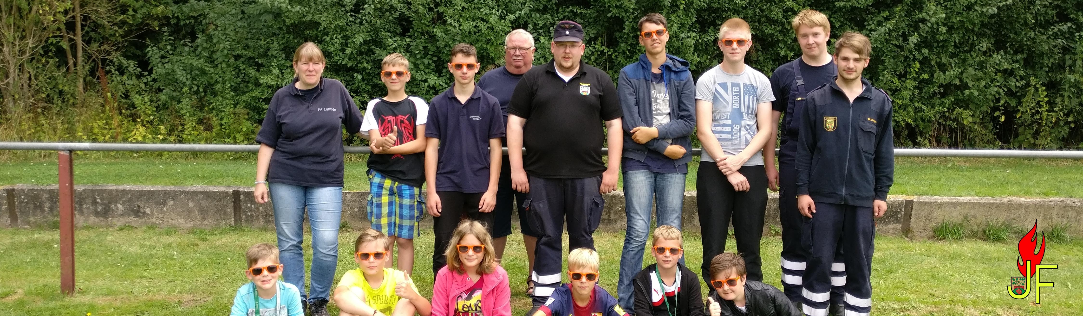 Jugendfeuerwehr besucht Gemeindezeltlager
