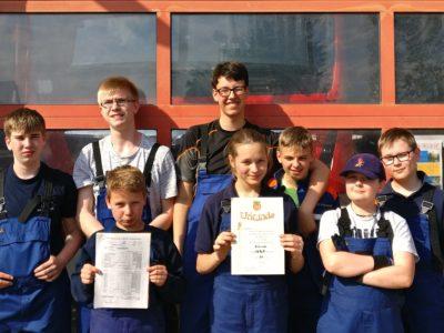 Jugendfeuerwehr nimmt an Abschnittswettkämpfen teil