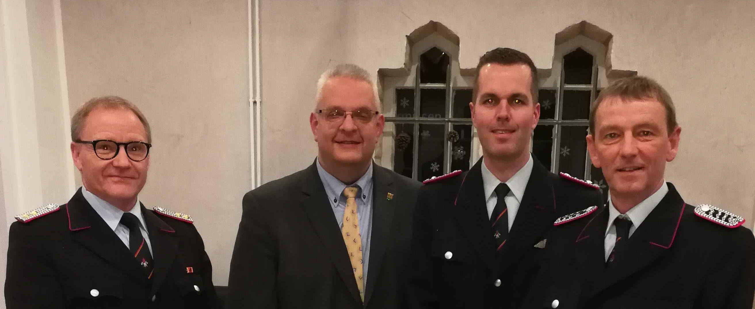 Stefan Sohns ist neuer stellvertretender Ortsbrandmeister