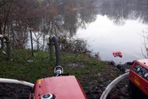 Überprüfung der Hydranten und Brunnen