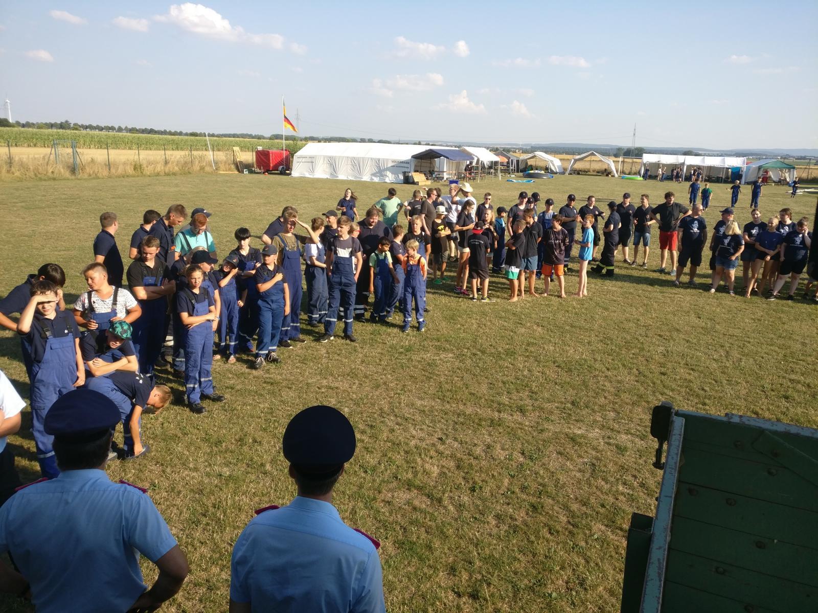 Gemeindezeltlager der Jugendfeuerwehren