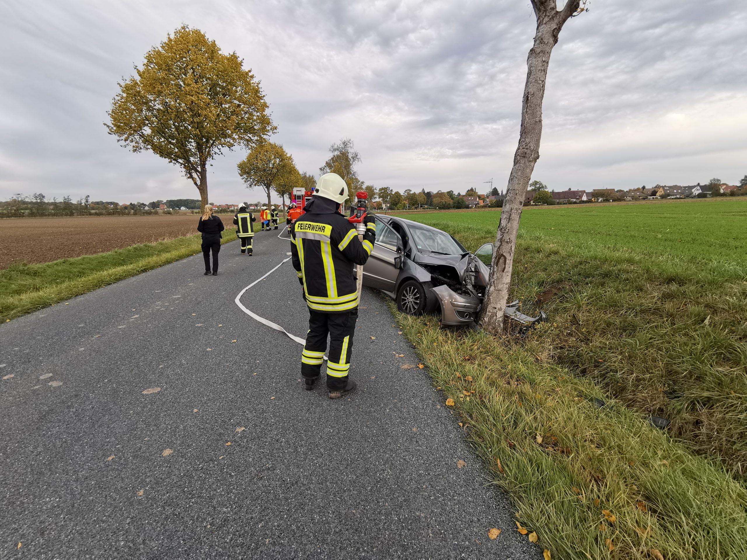 H1 – Verkehrsunfall mit eingeklemmter Person (13-2020)