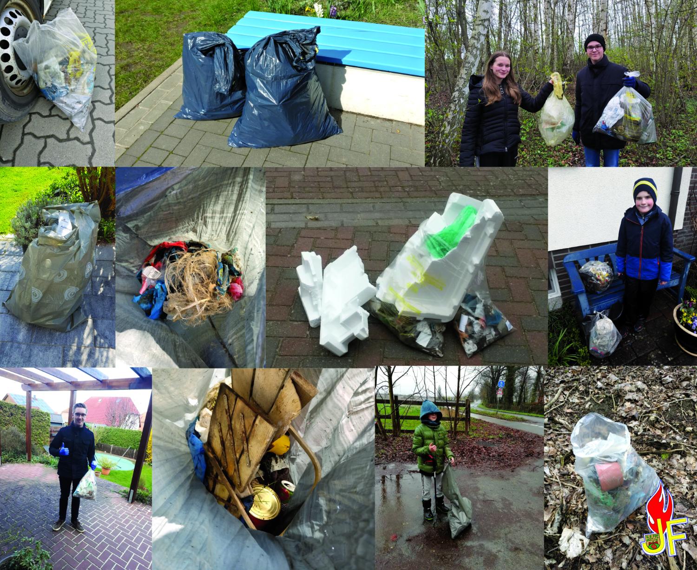 Read more about the article Saubere Sache: Müllsammelaktion der Jugendfeuerwehr